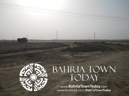 Bahria Town Karachi Latest Progress Update - May 2014 (38)