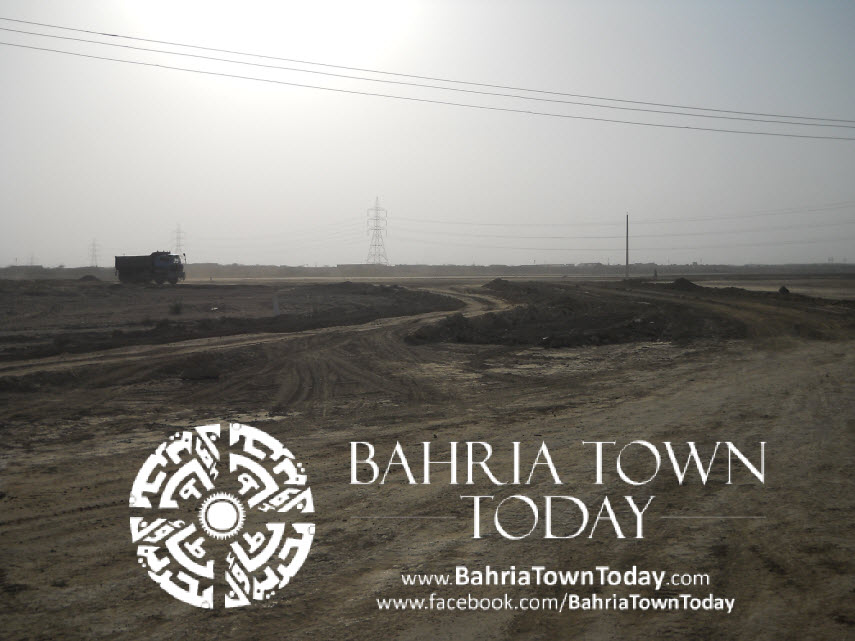 Bahria Town Karachi Latest Progress Update – May 2014 (38)