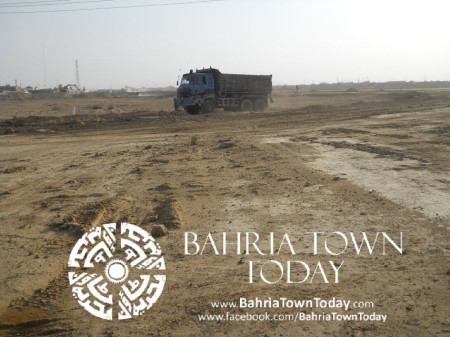 Bahria Town Karachi Latest Progress Update - May 2014 (40)