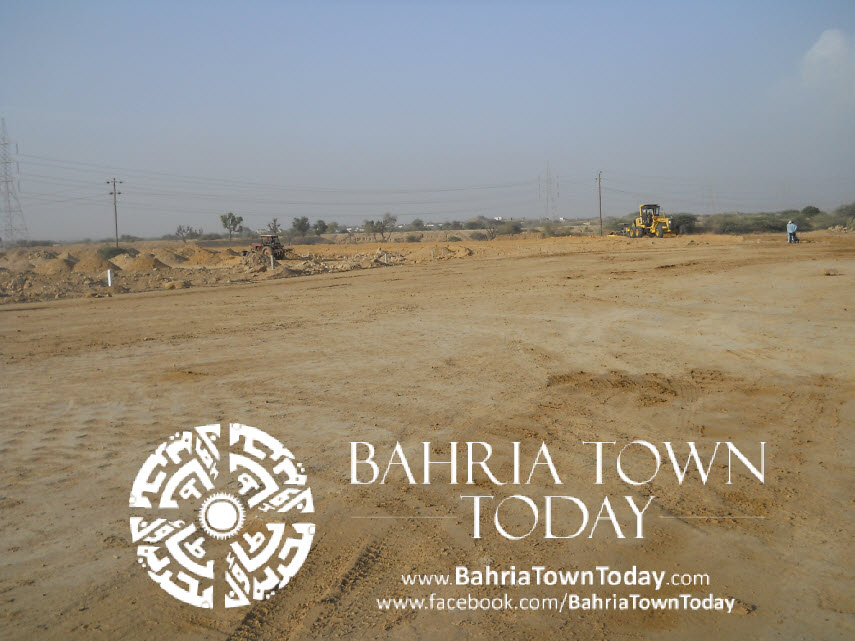 Bahria Town Karachi Latest Progress Update – May 2014 (41)