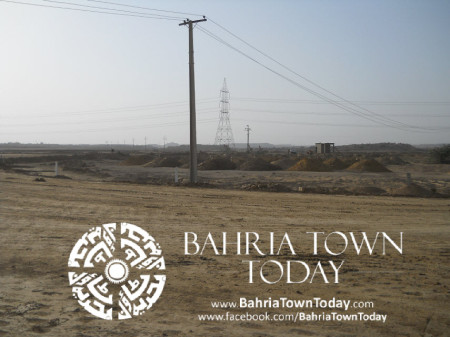 Bahria Town Karachi Latest Progress Update - May 2014 (42)