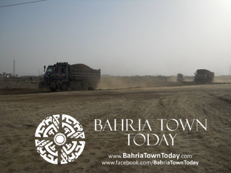 Bahria Town Karachi Latest Progress Update - May 2014 (43)