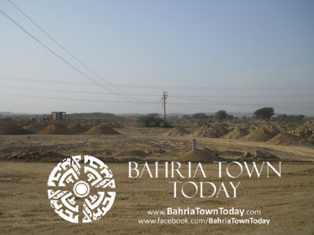 Bahria Town Karachi Latest Progress Update - May 2014 (45)