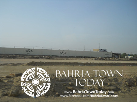Bahria Town Karachi Latest Progress Update - May 2014 (5)