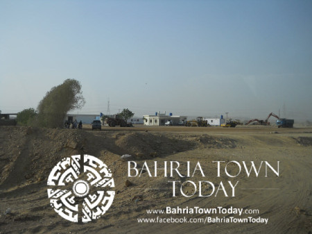 Bahria Town Karachi Latest Progress Update - May 2014 (8)