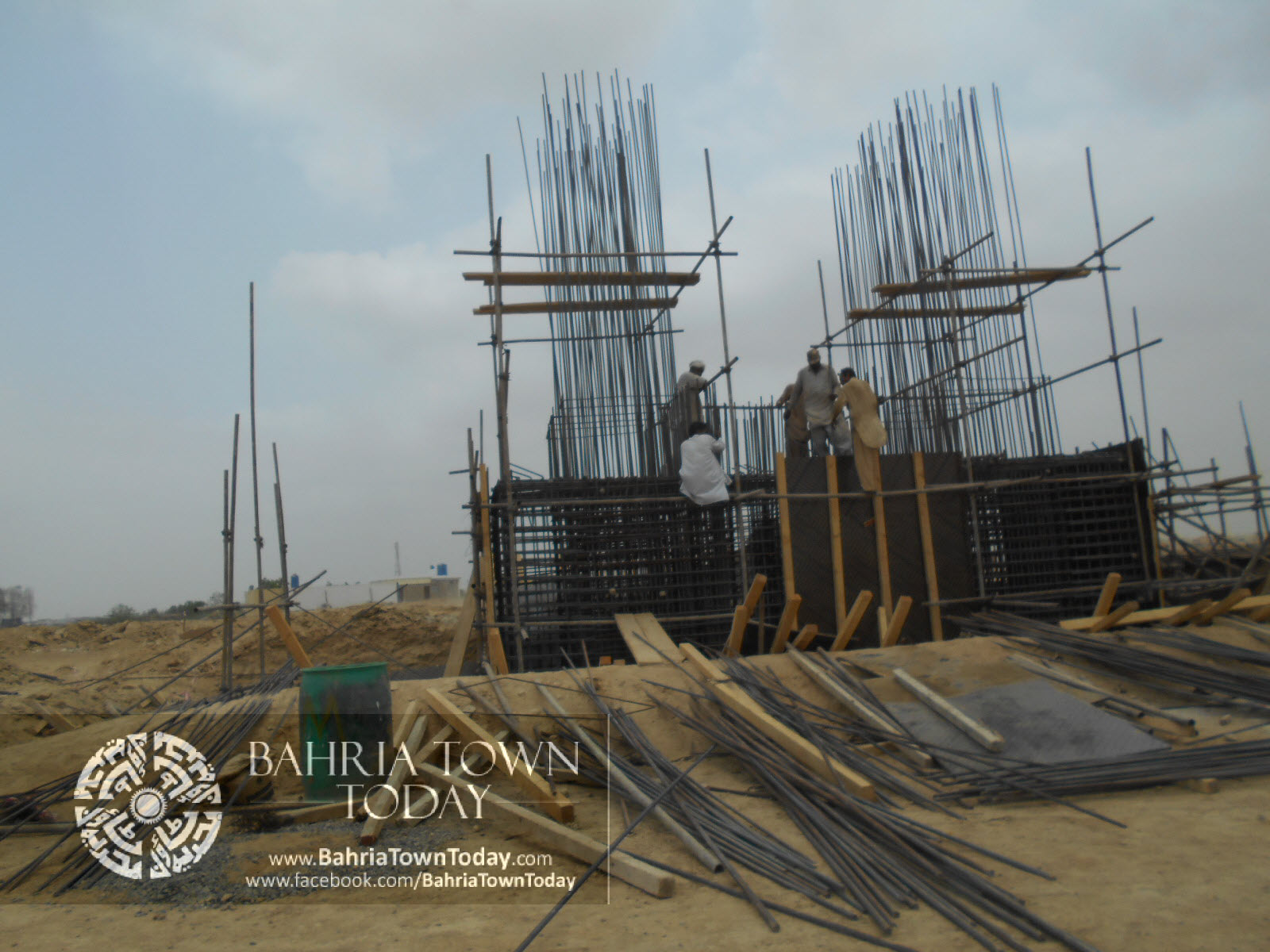 Bahria Town Karachi Latest Progress Update – June 2014 (12)