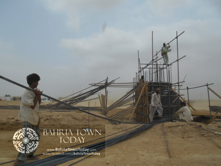 Bahria Town Karachi Latest Progress Update - June 2014 (14)