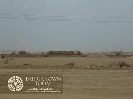 Bahria Town Karachi Latest Progress Update - June 2014 (15)