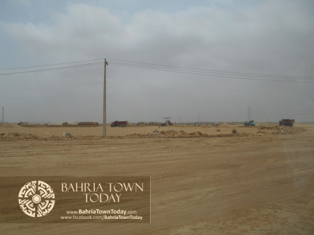 Bahria Town Karachi Latest Progress Update - June 2014 (16)