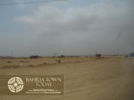 Bahria Town Karachi Latest Progress Update - June 2014 (17)