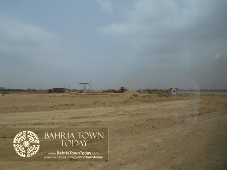 Bahria Town Karachi Latest Progress Update - June 2014 (18)