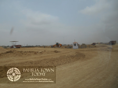 Bahria Town Karachi Latest Progress Update - June 2014 (19)