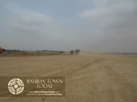Bahria Town Karachi Latest Progress Update - June 2014 (20)