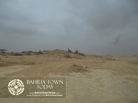 Bahria Town Karachi Latest Progress Update - June 2014 (24)