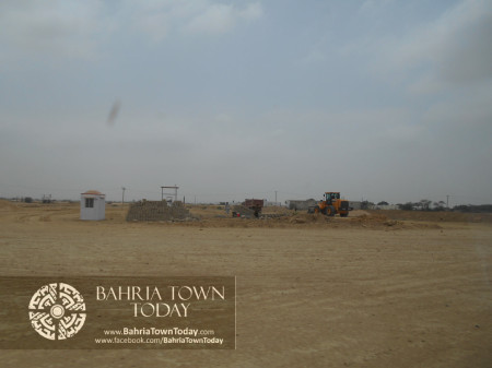 Bahria Town Karachi Latest Progress Update - June 2014 (28)