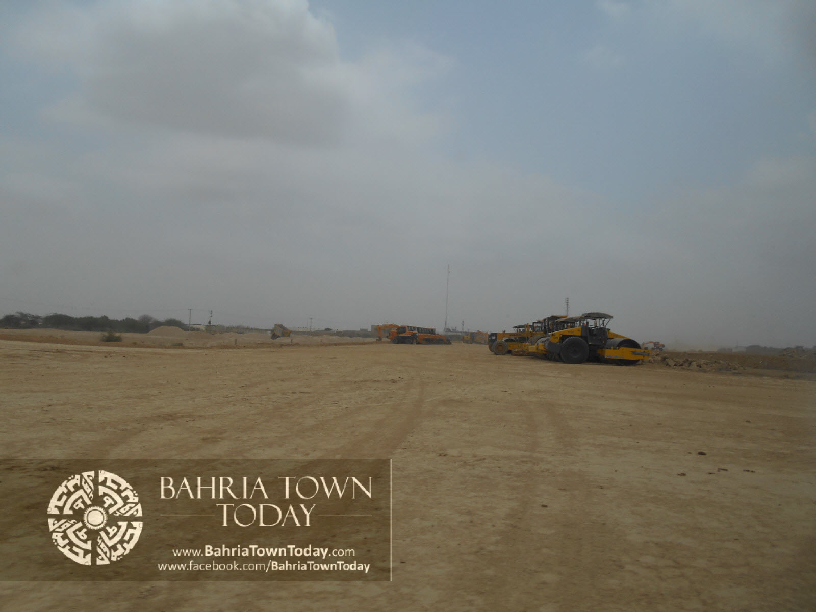 Bahria Town Karachi Latest Progress Update – June 2014 (29)