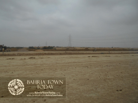 Bahria Town Karachi Latest Progress Update - June 2014 (30)