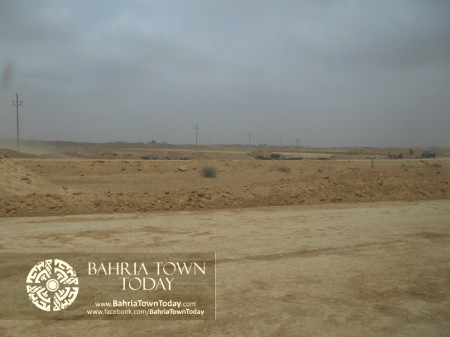 Bahria Town Karachi Latest Progress Update - June 2014 (31)