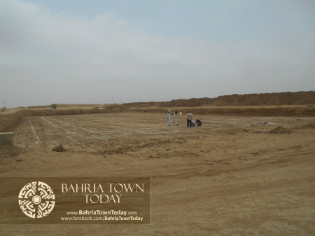 Bahria Town Karachi Latest Progress Update - June 2014 (41)