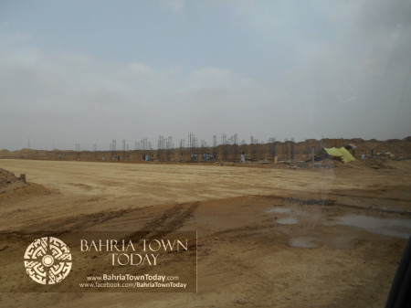 Bahria Town Karachi Latest Progress Update - June 2014 (43)