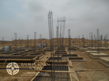 Bahria Town Karachi Latest Progress Update - June 2014 (44)