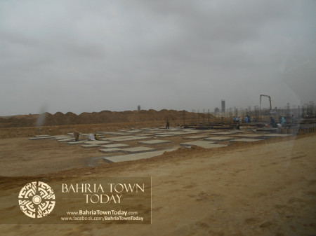 Bahria Town Karachi Latest Progress Update - June 2014 (46)