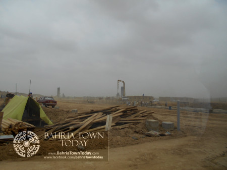 Bahria Town Karachi Latest Progress Update - June 2014 (47)