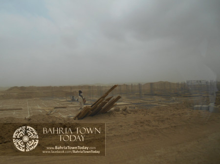 Bahria Town Karachi Latest Progress Update - June 2014 (48)