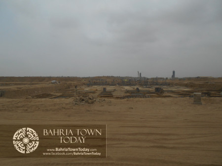 Bahria Town Karachi Latest Progress Update - June 2014 (50)