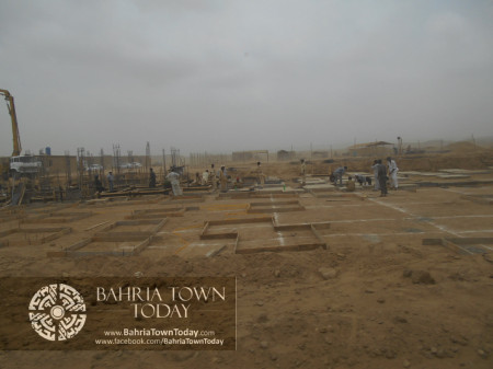 Bahria Town Karachi Latest Progress Update - June 2014 (52)