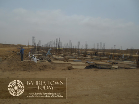 Bahria Town Karachi Latest Progress Update - June 2014 (53)