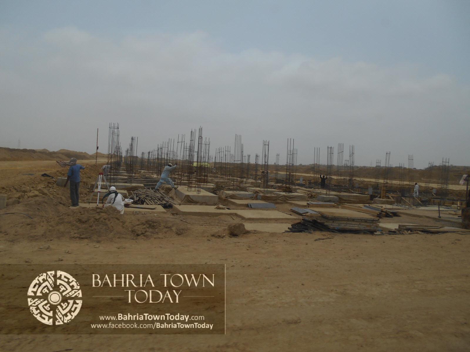 Bahria Town Karachi Latest Progress Update – June 2014 (53)