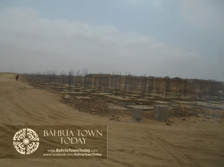 Bahria Town Karachi Latest Progress Update - June 2014 (54)
