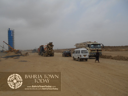 Bahria Town Karachi Latest Progress Update - June 2014 (58)