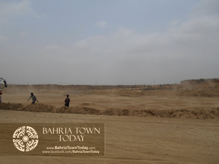 Bahria Town Karachi Latest Progress Update - June 2014 (59)