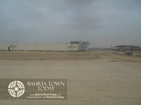 Bahria Town Karachi Latest Progress Update - June 2014 (6)