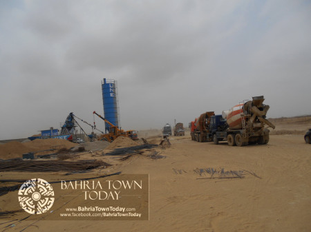 Bahria Town Karachi Latest Progress Update - June 2014 (60)