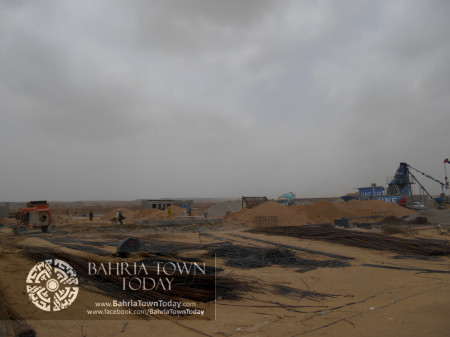 Bahria Town Karachi Latest Progress Update - June 2014 (62)