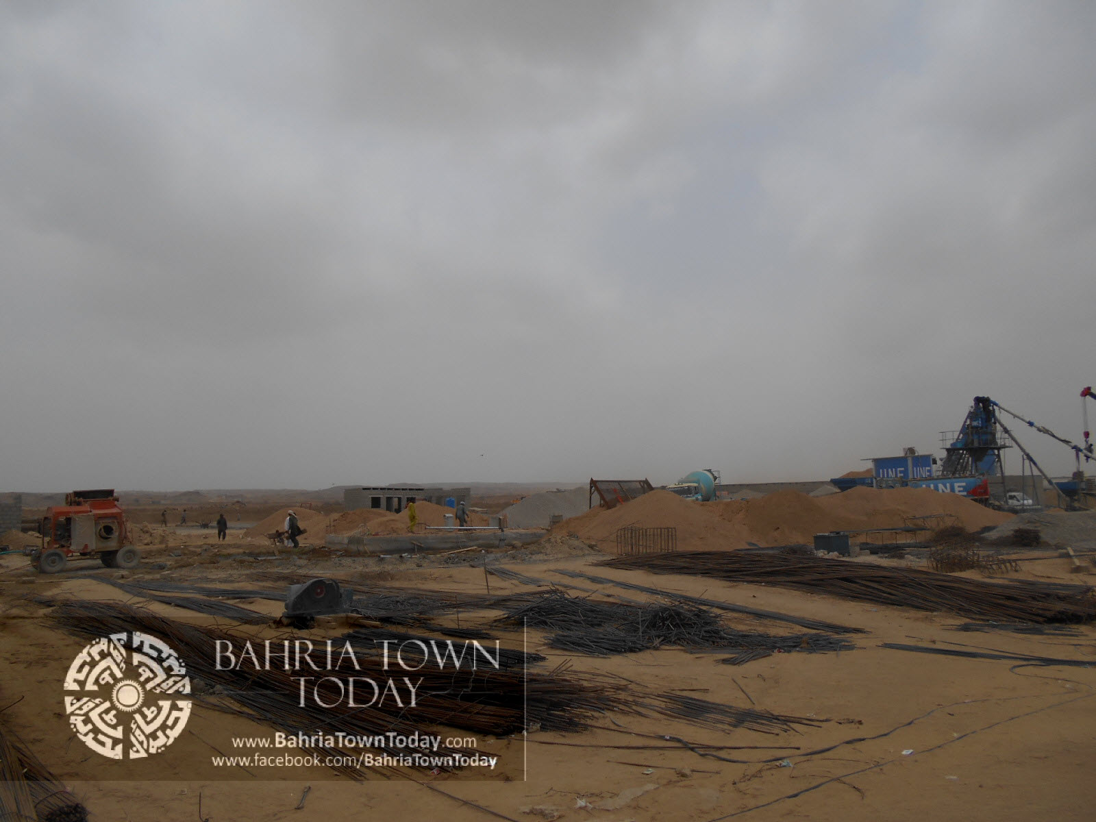 Bahria Town Karachi Latest Progress Update – June 2014 (62)