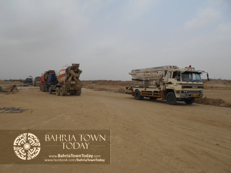Bahria Town Karachi Latest Progress Update - June 2014 (63)