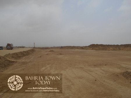 Bahria Town Karachi Latest Progress Update - June 2014 (64)