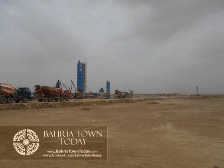 Bahria Town Karachi Latest Progress Update - June 2014 (66)