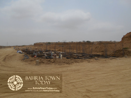 Bahria Town Karachi Latest Progress Update - June 2014 (67)
