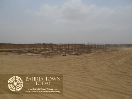 Bahria Town Karachi Latest Progress Update - June 2014 (68)