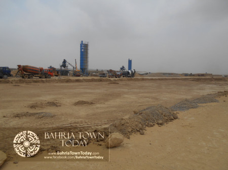 Bahria Town Karachi Latest Progress Update - June 2014 (70)