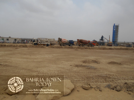 Bahria Town Karachi Latest Progress Update - June 2014 (71)