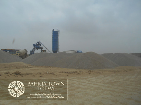 Bahria Town Karachi Latest Progress Update - June 2014 (81)