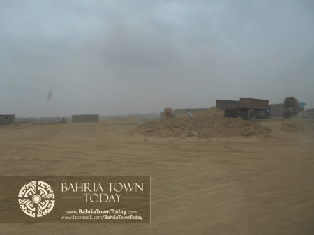 Bahria Town Karachi Latest Progress Update - June 2014 (82)