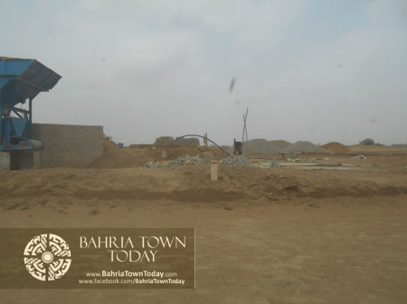 Bahria Town Karachi Latest Progress Update - June 2014 (84)