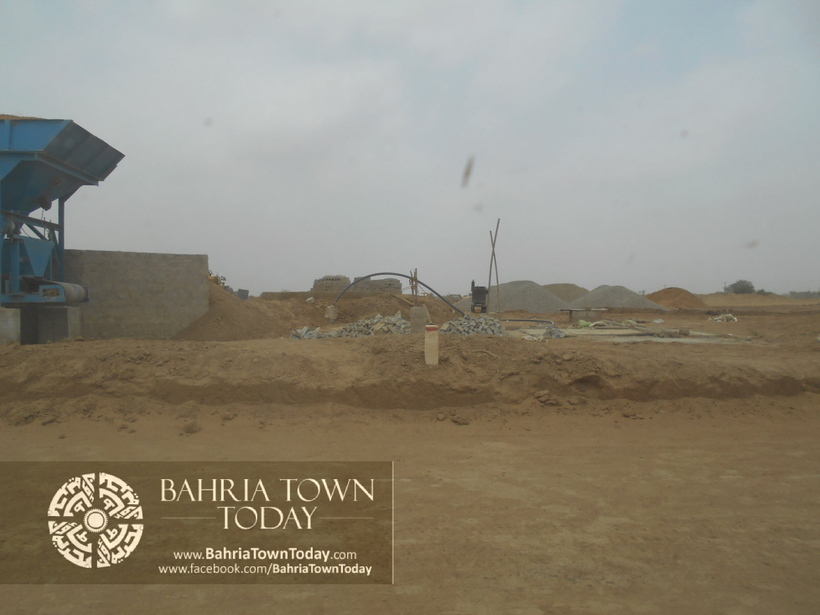 Bahria Town Karachi Latest Progress Update – June 2014 (84)